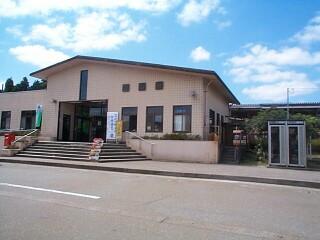 穴水駅(あなみずえき)